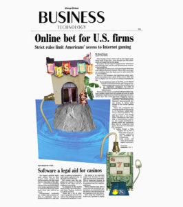 Chicago Tribune - Online Bet for U.S. Firms