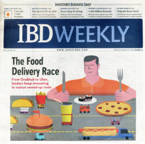 Investors Business Weekly - The Food Delivery Race