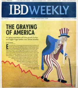 Investors Business Weekly - The Graying of America