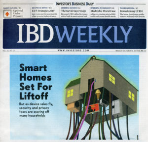 Investors Business Weekly - Smart Homes Set for Liftoff