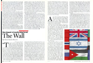 New Republic - How Despair is Transforming Israel. The Wall
