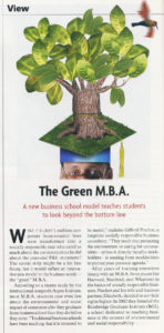 Utne Reader - The Green M.B.A.