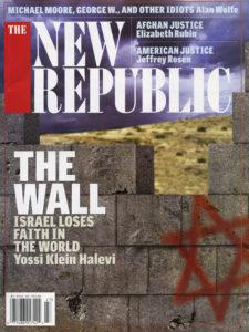 New Republic Cover Illustration