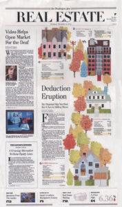 Washington Post - Full Page Real Estate Illustration