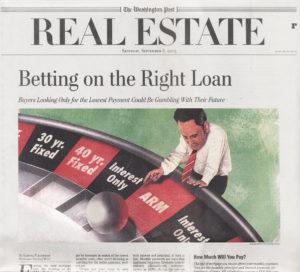 Washington Post - Real Estate Illustration